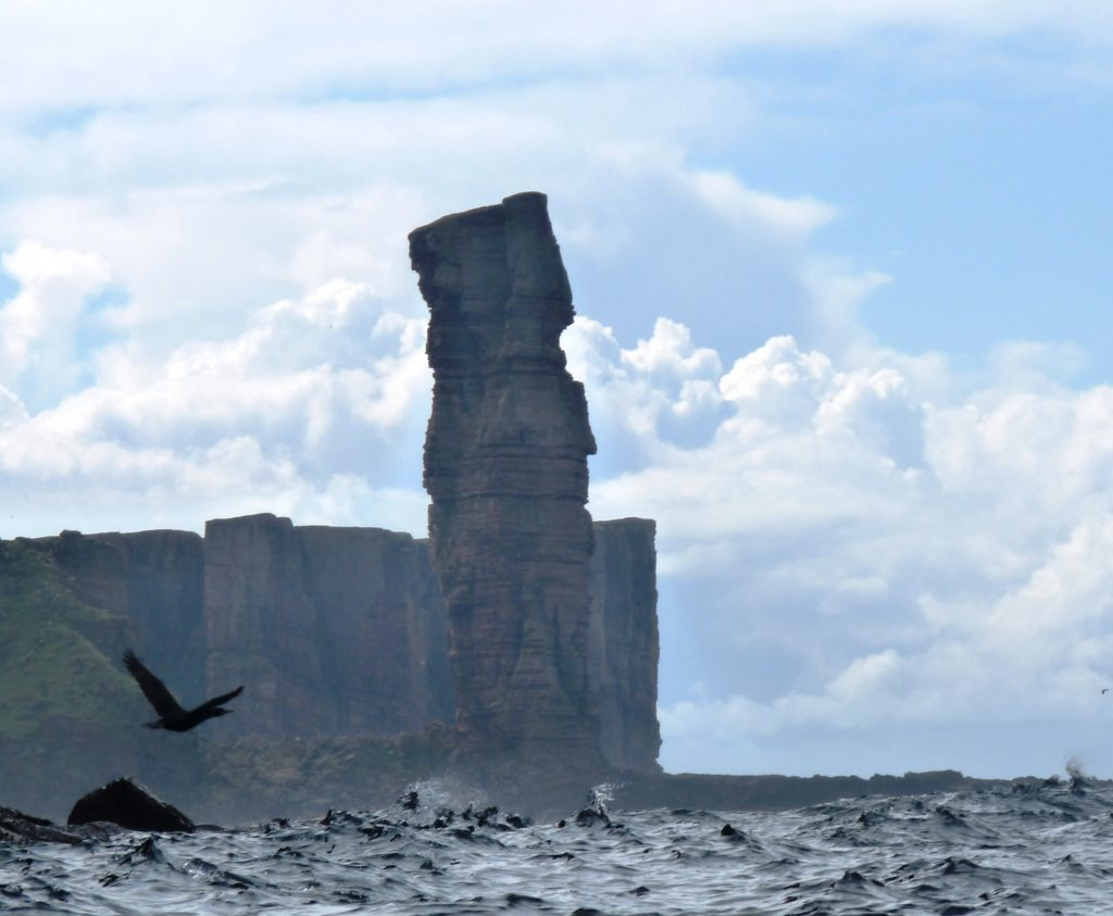 The old man of Hoy - sea kayaking down the West coast of Hoy