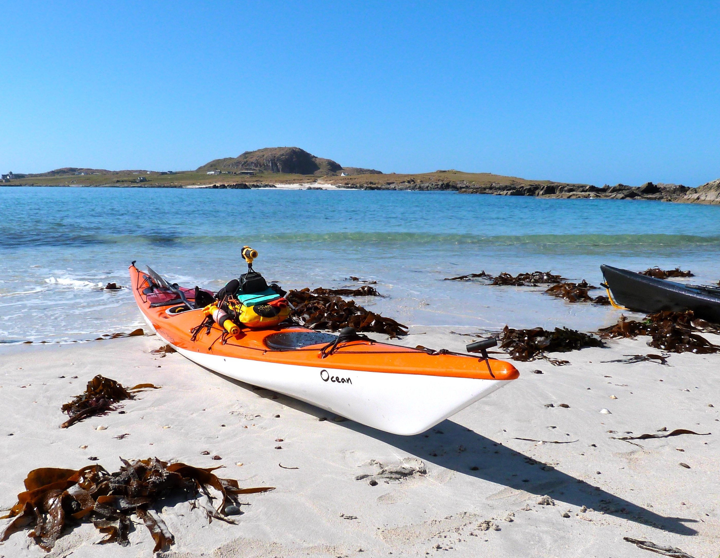 Sea kayak Isle of Mull adventure